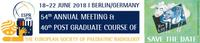 40th Post Graduate Course & 54th Annual Meeting of the European Society of Paediatric Radiology (ESPR)